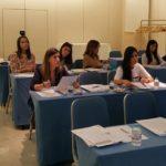 Imagen detalle de los alumnos en la parte teórica del curso de Operador de RX, Septiembre 2016