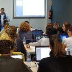 Foto detalle de los asistentes al curso de Fotografía Digital y Photoshop aplicado a la Odontología, 2017. Impartido por Carlos Renato Soto Hoche