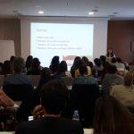 imagen del desarrollo de las clases de preparación a oposiciones de higienistas dentales en la Comunidad Valenciana, con la Dra. Miriam Puig Silla, 2018-2019.