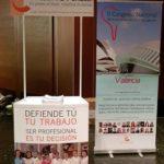 El colegio asiste con su stand modular al XXX Congreso de HIDES, en octubre de 2018, Murcia, para promocionar el II Congreso Nacional Multidisciplinar de Salud Bucodental
